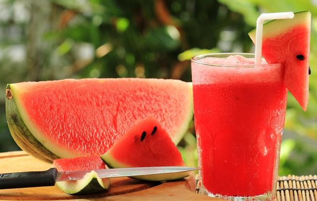 kako napraviti sok od lubenice